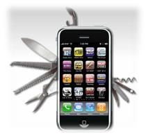 iphone couteau suisse portable