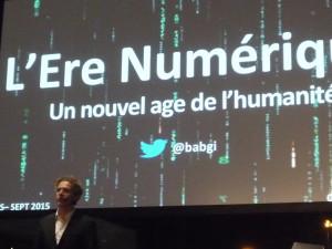 """""""L'ère numérique"""", Gilles Babinet"""