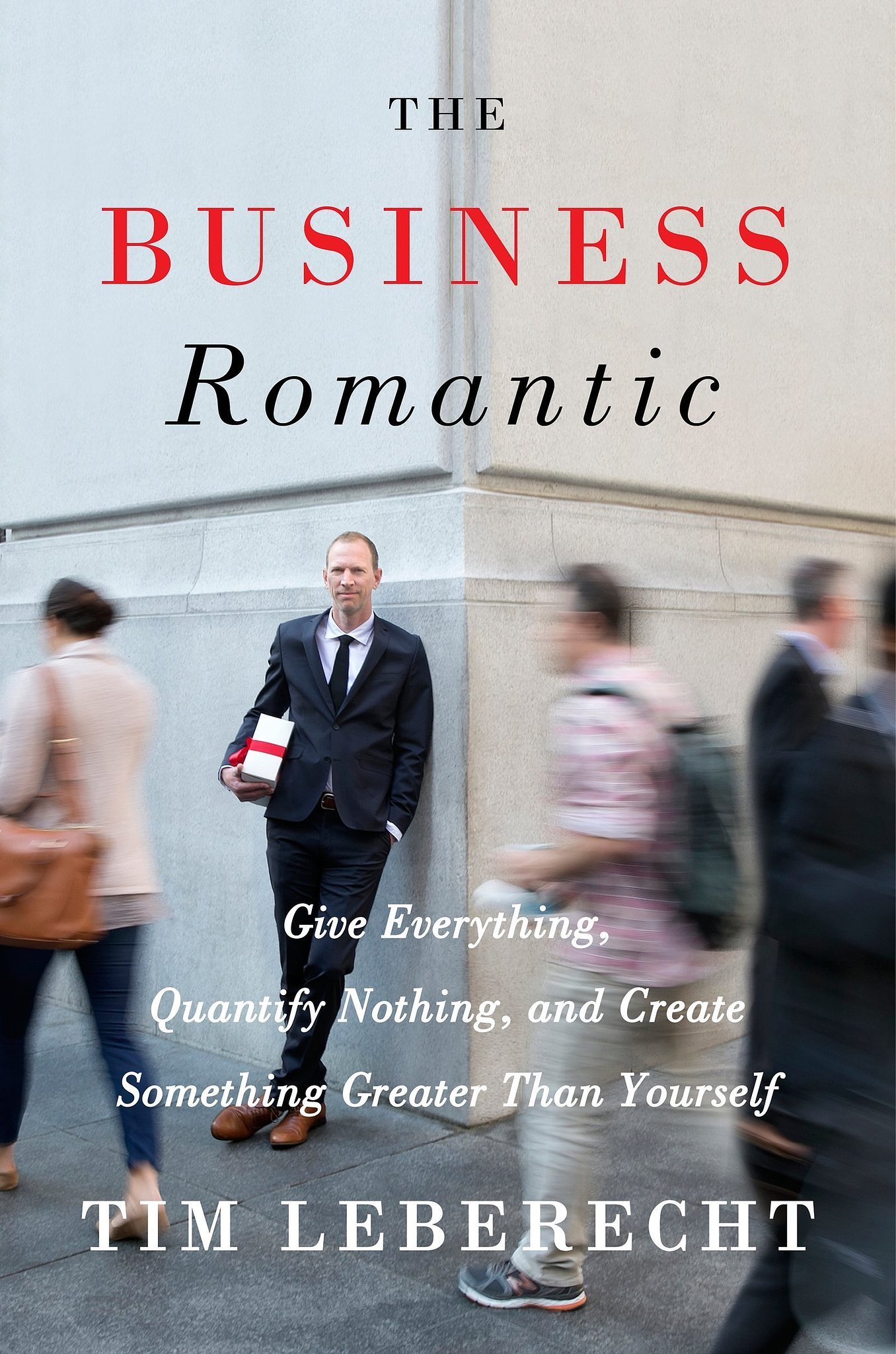 "Couverture ""The business romantic"""