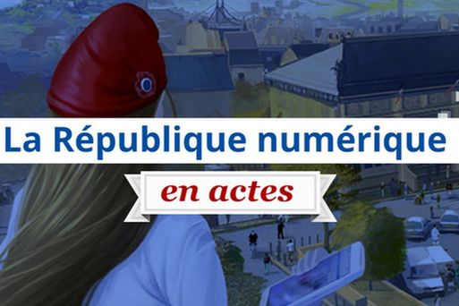 Logo - Loi République Numérique